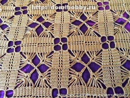 Cuadros o squares o grannys, tejidos al crochet con patrón