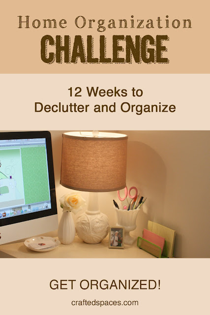 Crafted Spaces Home Organization Challenge