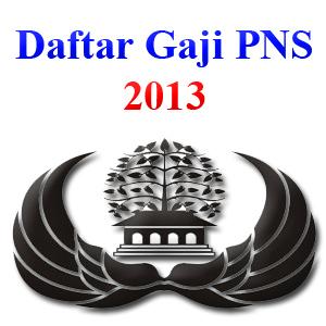 gaji pns 2013