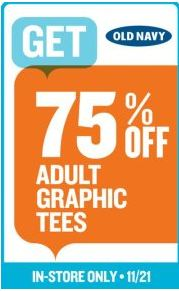 Arizona Shopping Secrets Old Navy 75 Off Adult Graphic
