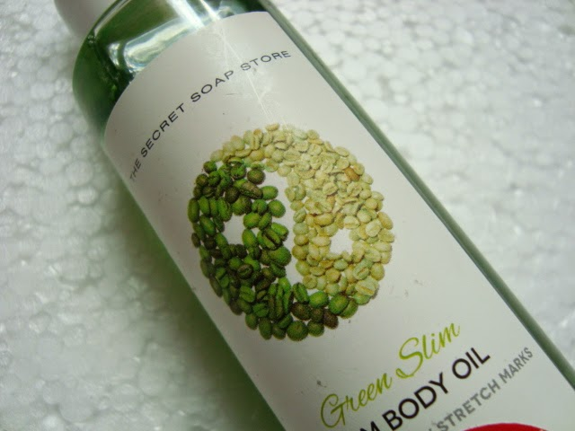 Olejek wyszczuplający Green Slim The Secret Soap Store