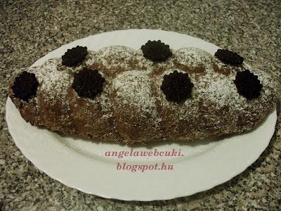 Karácsonyi gyümölcskenyér recept, tejmentes, kevert tésztás sütemény, dióval, almával, áfonyával valamint csokoládéval.