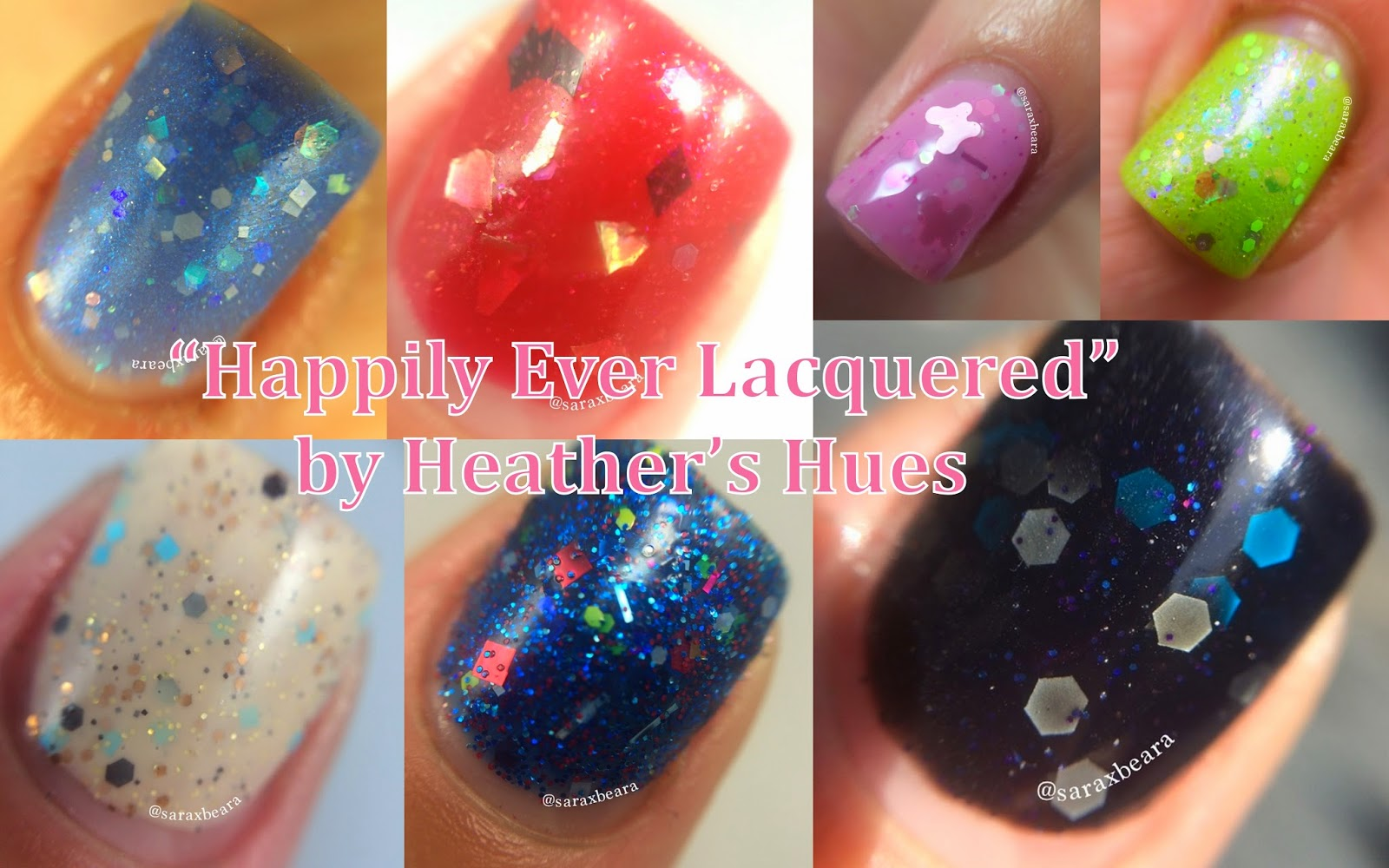 Heather's Hues Happily Ever Lacquered Collection