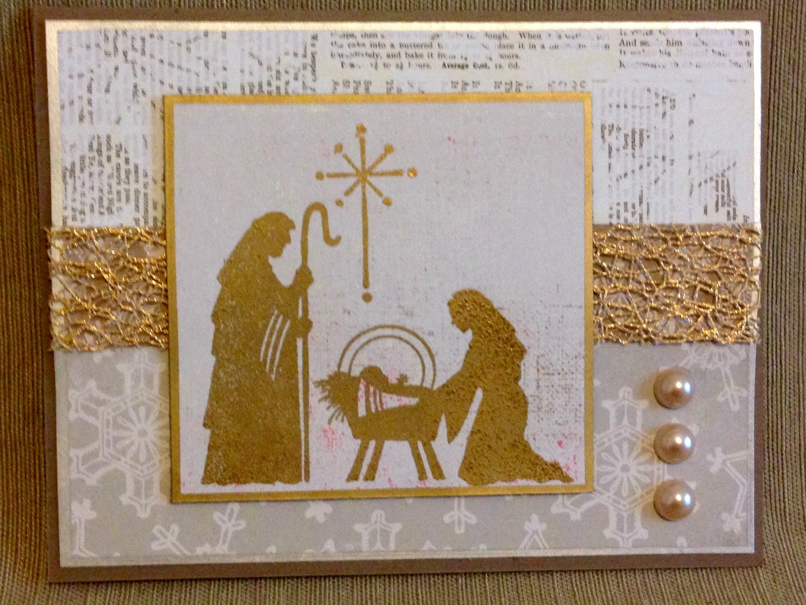 SewPaperPaint: Christmas In July Handmade Cards Part 1