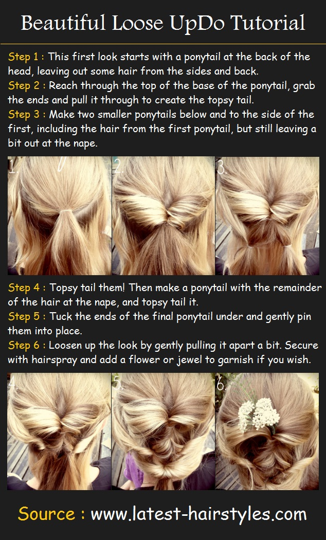 Prom Updo Tutorials