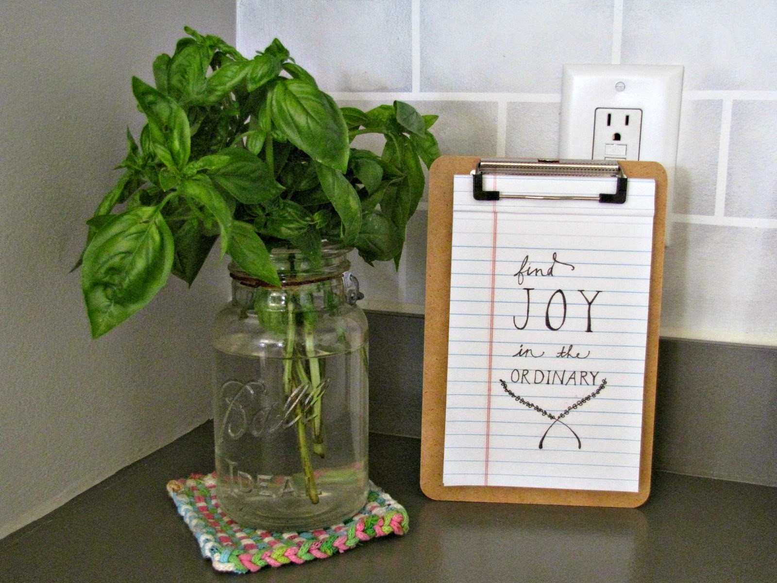 DIY: The Kitchen Project || sarahesh.blogspot.com