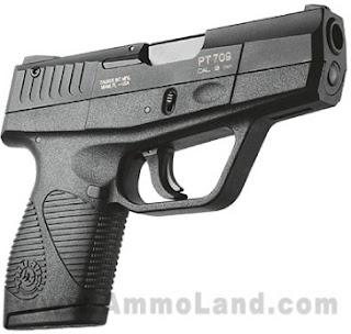 Pistol Taurus Slim Concealed Carry PT709