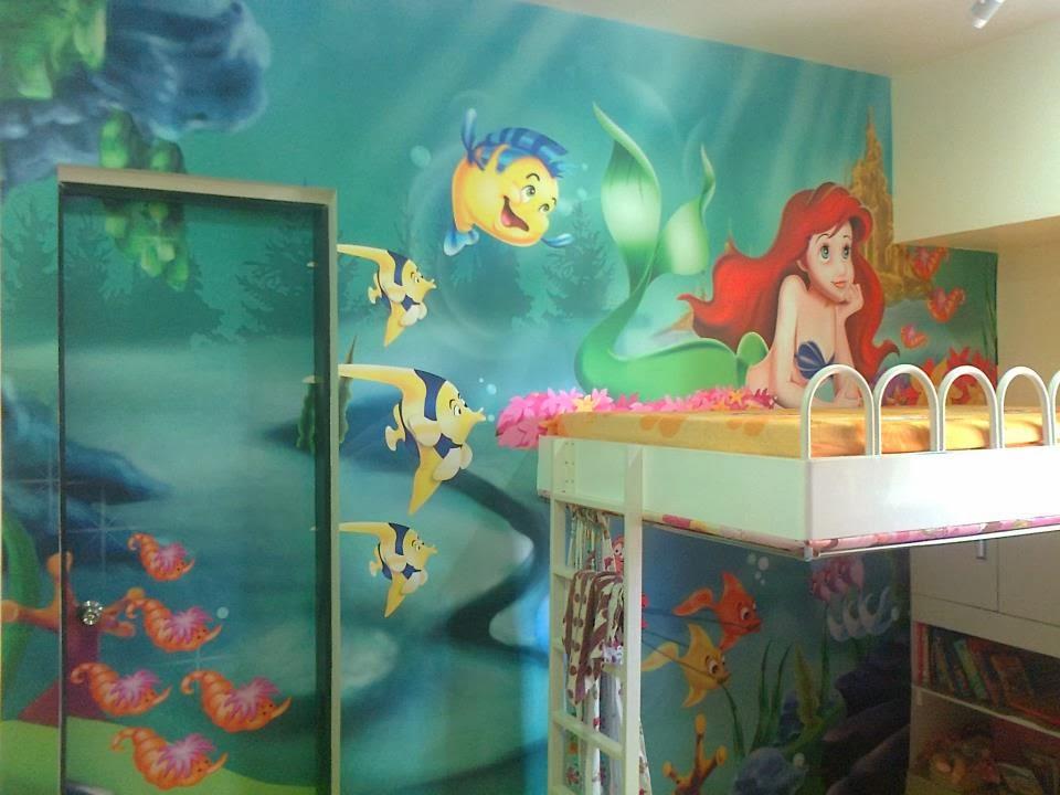 Perfect Great Filename: Mermaid Wall Mural Part 22