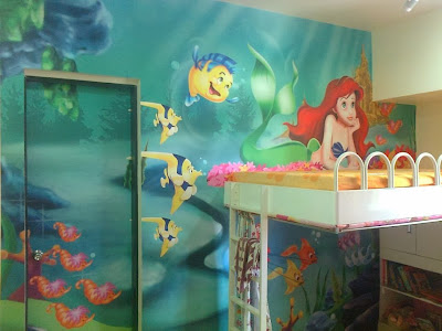 Full size wall designs for kids room