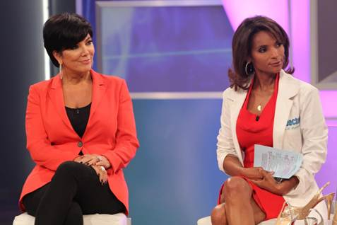 Kris Jenner With Dr. Lisa Masterson