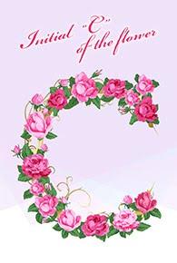 花のイニシャル「C」
