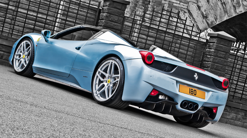 davide458italia ferrari 458 spider by a kahn design. Black Bedroom Furniture Sets. Home Design Ideas