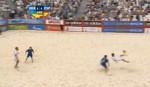Τι έβαλε το άτομο!!Απίστευτο γκολ σε αγώνα beach soccer!!(Video)