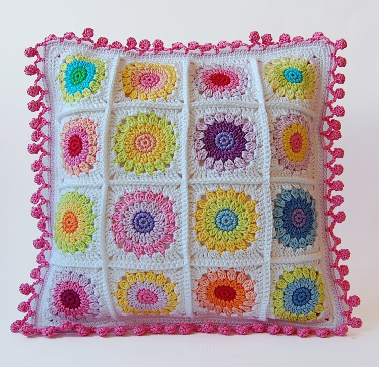 Rosie Posie Pillow no 2