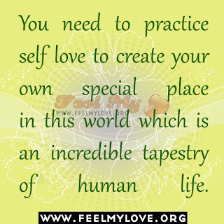 You need to practice self love