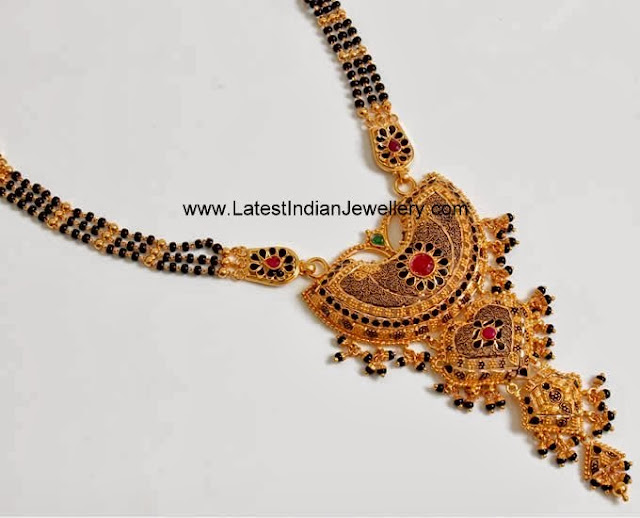 Traditional Black Beads Mangalsutra