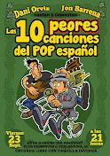 BARCELONA, 23 DE SEPTIEMBRE .LAS 10 PEORES CANCIONES DEL POP ESPAÑOL EN EL CLUB CRONOPIOS