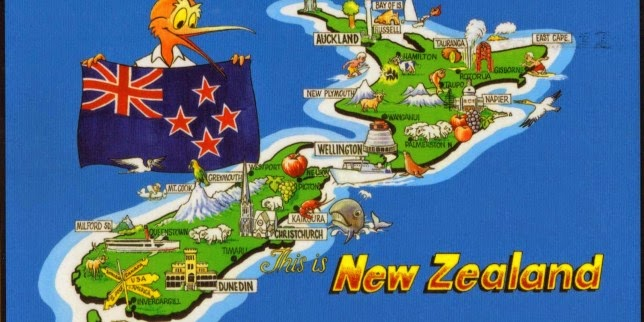 Beautiful Places From New Zealand Country