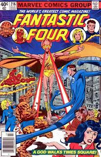 Fantastic Four #216