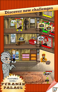 لعبة الفندق داش للاندرويد - Hotel Dash Android