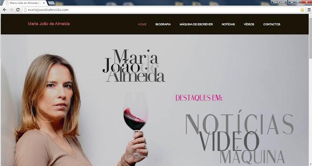 Divulgação: Maria João de Almeida lança novo site - reservarecomendada.blogspot.pt