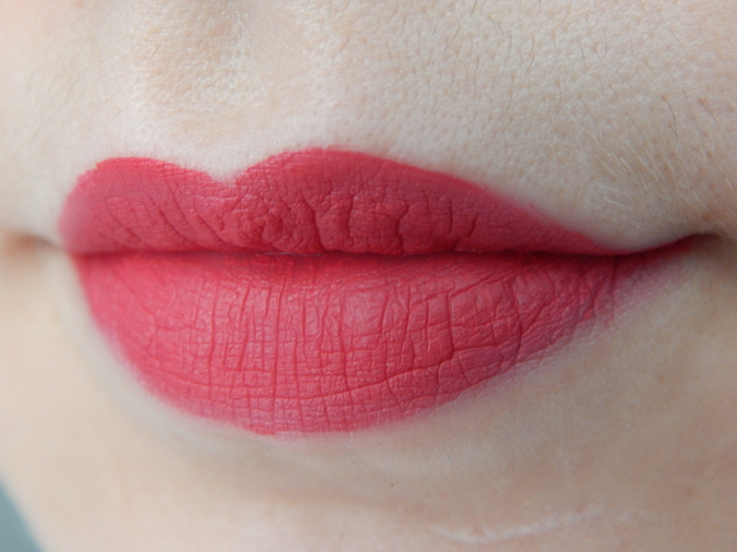 Lip Swatch Sephora Creram Lip Stain 03 Strawberry Kissed