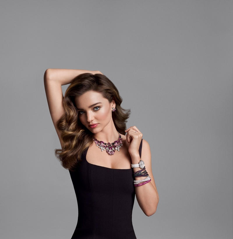 Miranda kerr for swarovski fall 2015