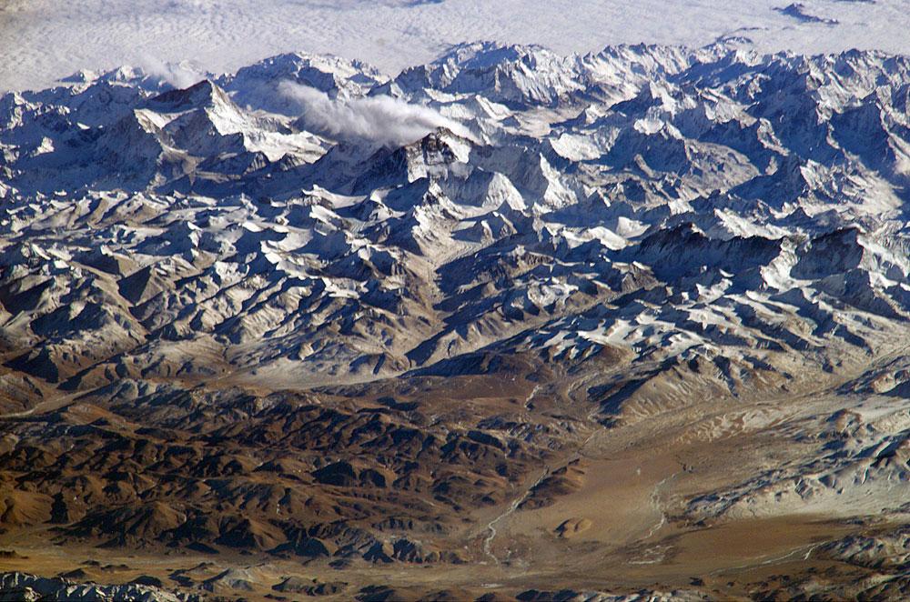 nasa himalayas from space - photo #20