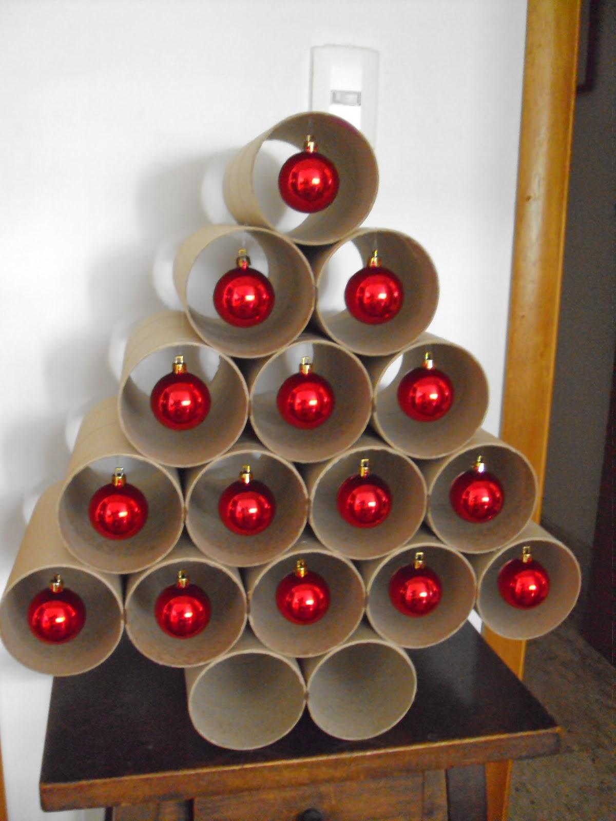 decoracao arvore de natal passo a passo: reciclado para o Natal – Decoração de Natal