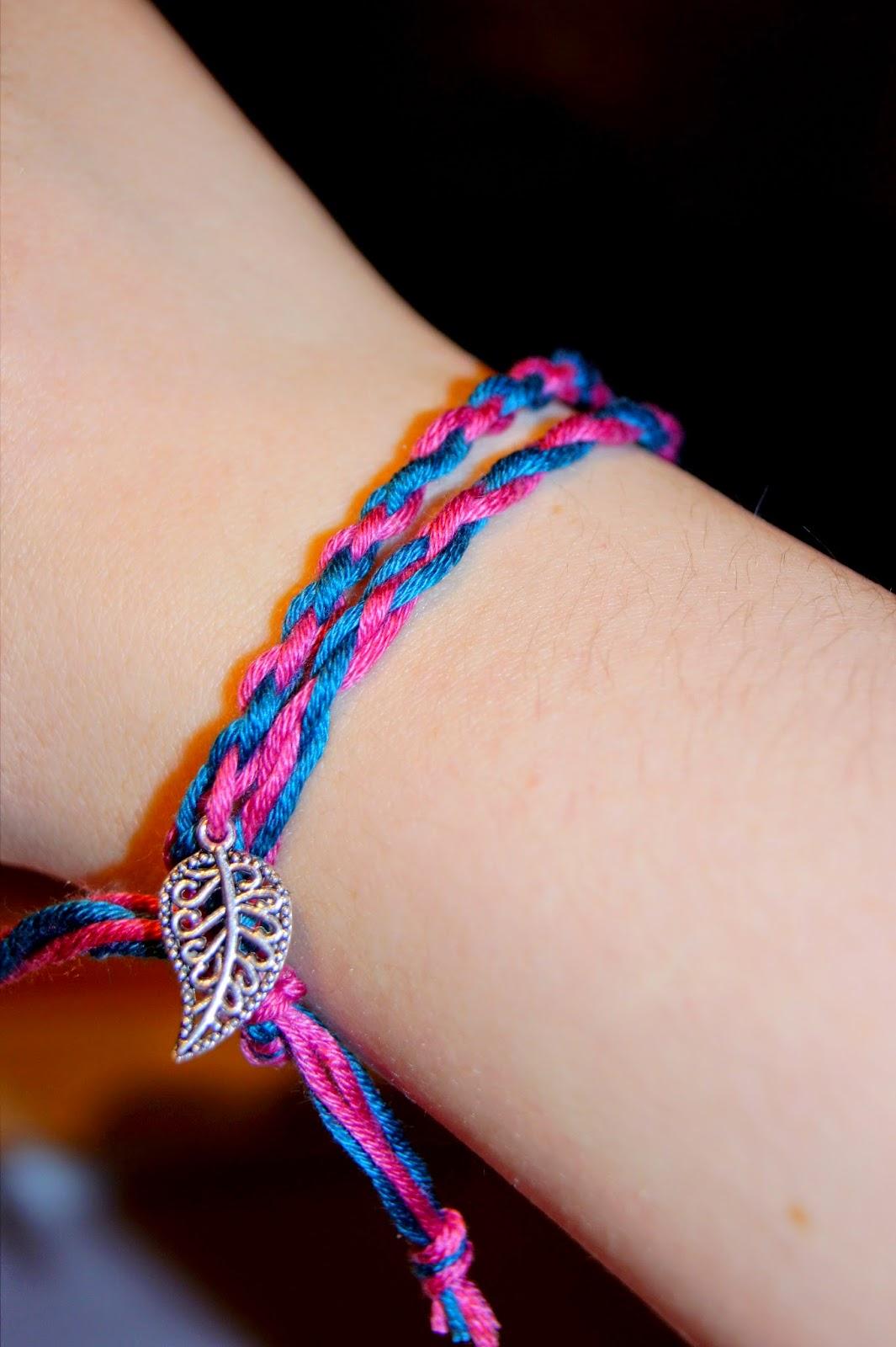 Armband flechten 8 bander