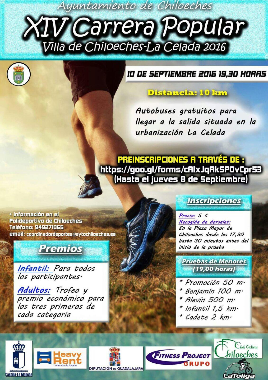 8 de Octubre, Chiloeches-La Celada