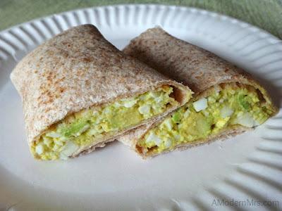 Avocado Egg Salad — a Modern Mrs.