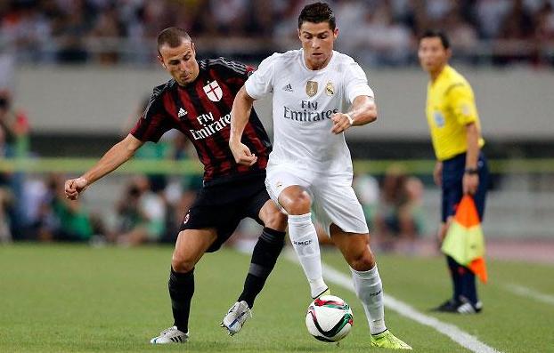 Cuplikan gol adu penalti Real Madrid vs AC Milan ICC 2015