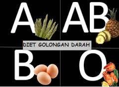 Menu diet sehat berdasarkan golongan darah