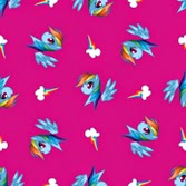 Rainbow Dash Fabric