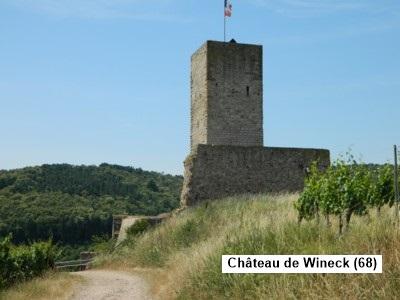 Châteaux-forts, abbayes et monuments antiques de Lorraine et  d'Alsace