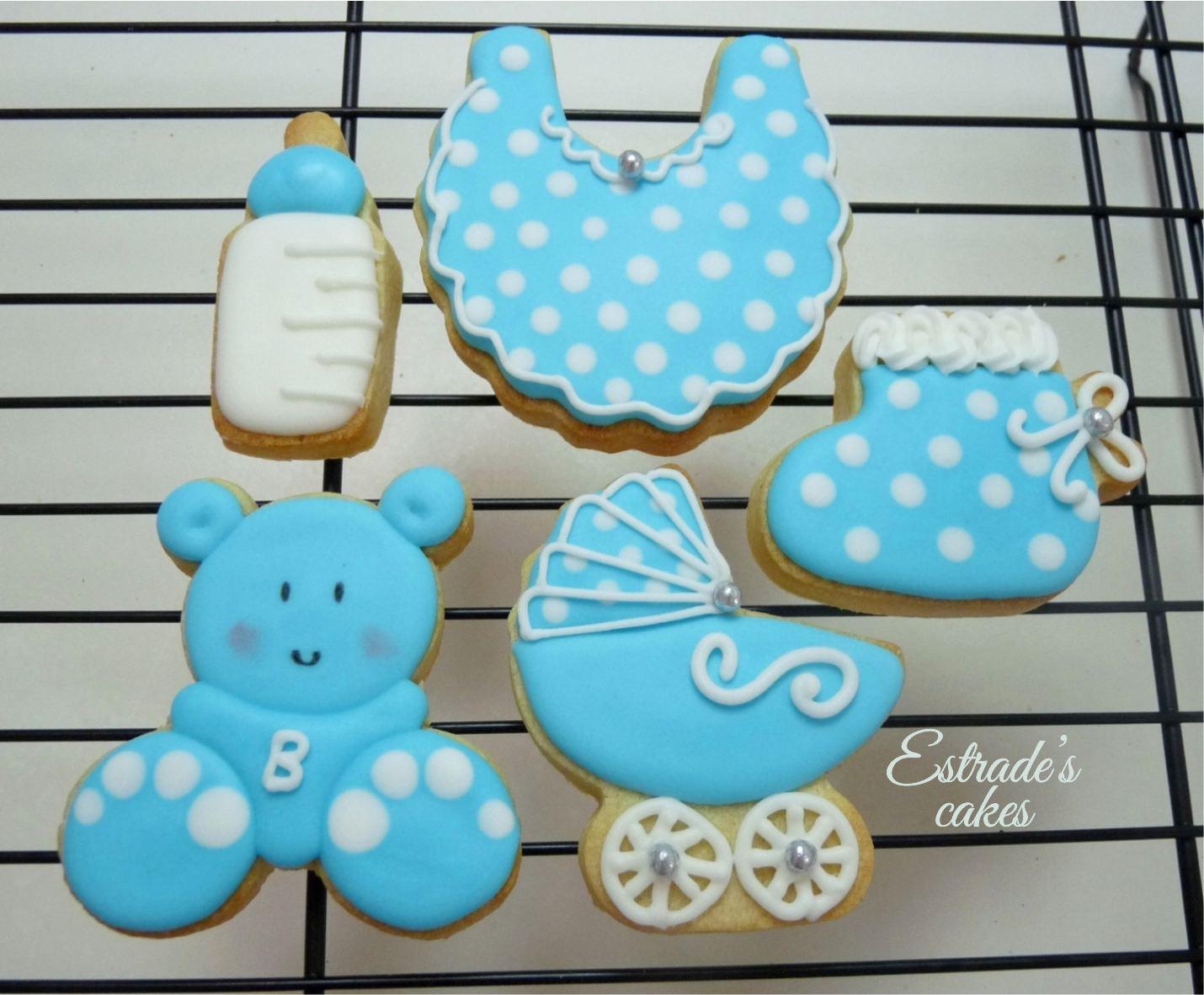 galletas para bautizo decoradas con glasa - 3