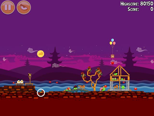 Angry Birds Seasons: Mooncake Festival 2-2