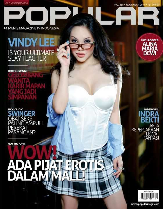 hot Vindy Lee for Popular Magazine, November 2011