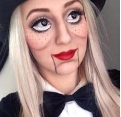 muñeca ventrilocuo