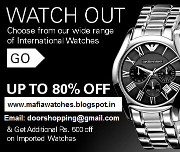 Diwali Discount Sale Offers On Watches In India For Man