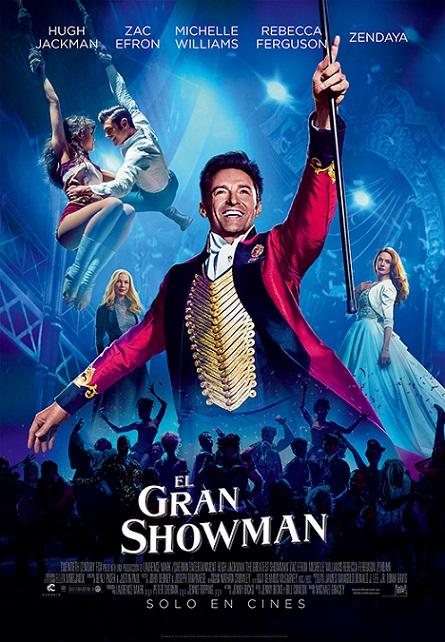 The Greatest Showman (El Gran Showman) (2017) 720p y 1080p WEBRip mkv Dual Audio AC3 5.1 ch