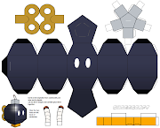 Mario BombOmb. Look at this castle it's just fantastic, and something you . (bomb omb papercraft template by jepale tzqa )