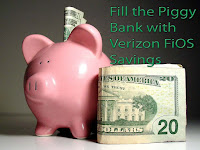 Verizon FiOS Piggy Bank