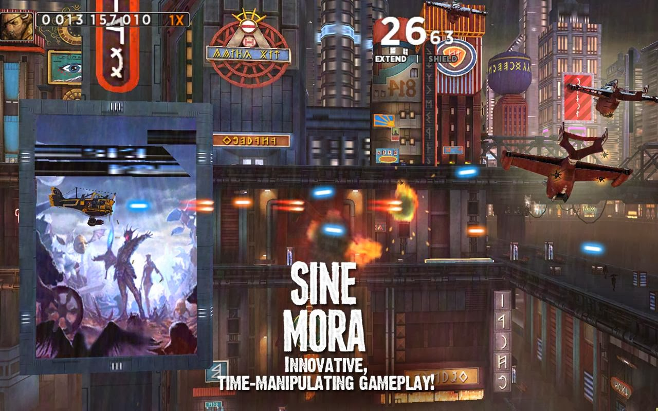 Sine Mora Arcade Action Android Game Download,