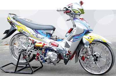 honda supra fit modifikasi