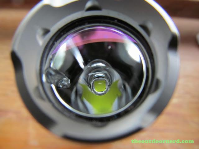 Nitecore SRT3 Defender EDC Flashlight: Closeup Of Reflector 3