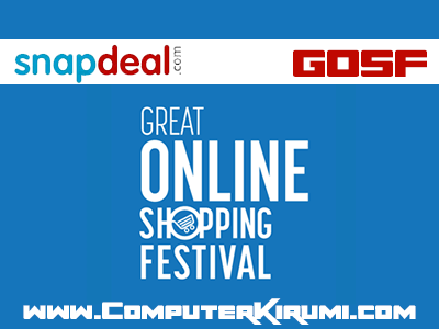 [NEW] Snapdeal GOSF 2014 Best Offers,Discounts,Deals and Coupons