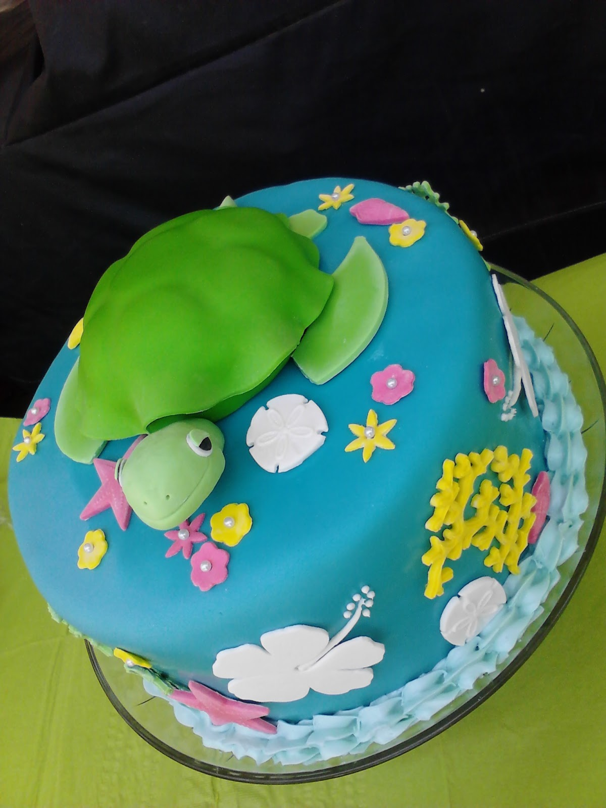 Project Mommie Sea Turtle Cake The How To
