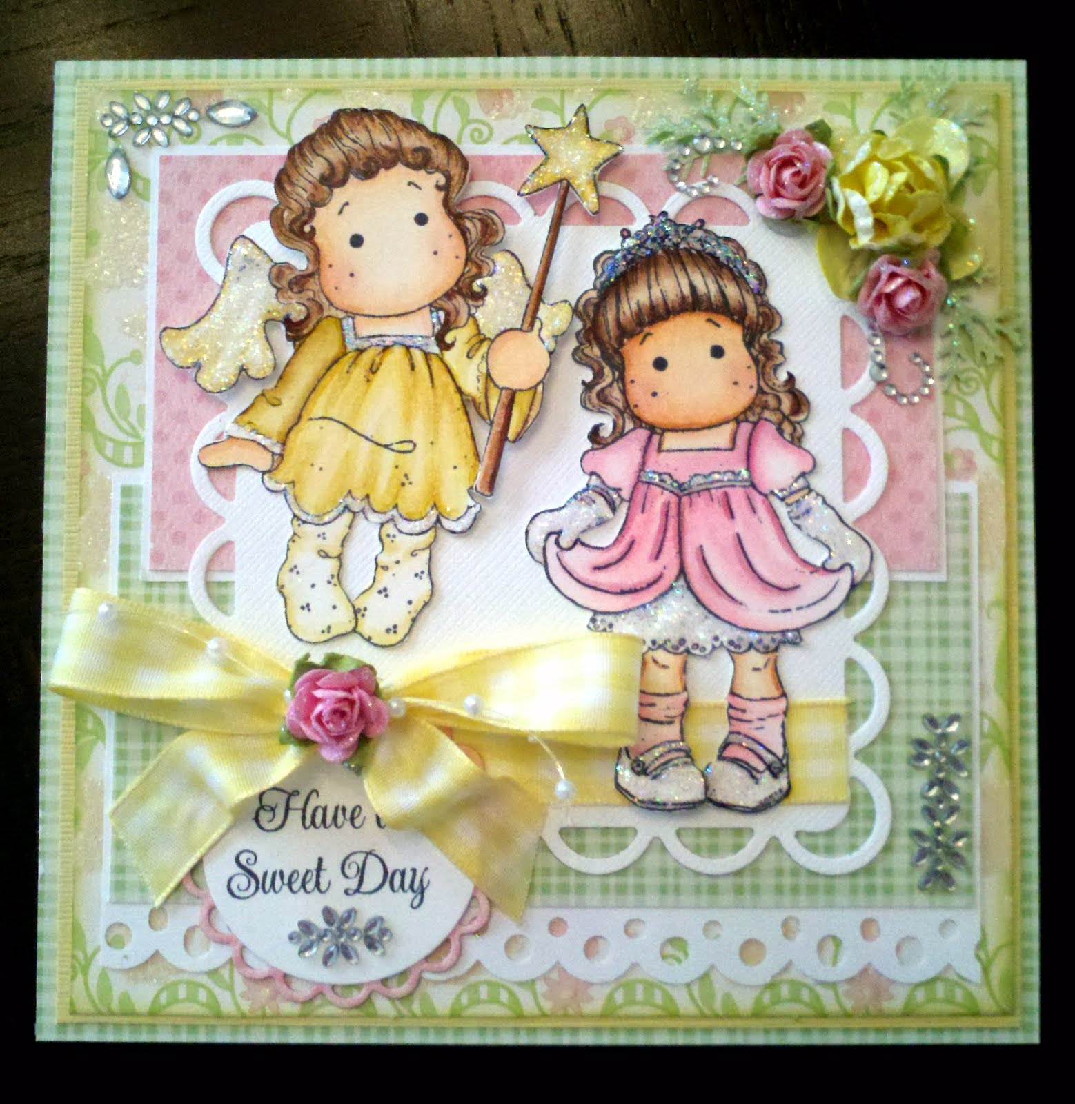born2stamp A birthday card for a little princess
